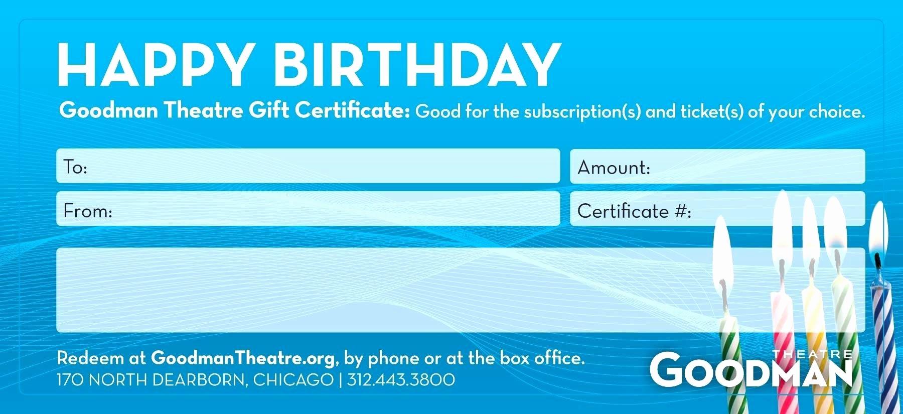 Birthday Gift Certificate Template Word Best Of Template Birthday Gift Certificate Template Word