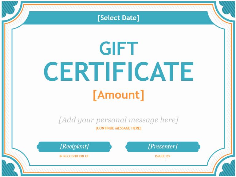 Birthday Gift Certificate Template Word Fresh 173 Free Gift Certificate Templates You Can Customize