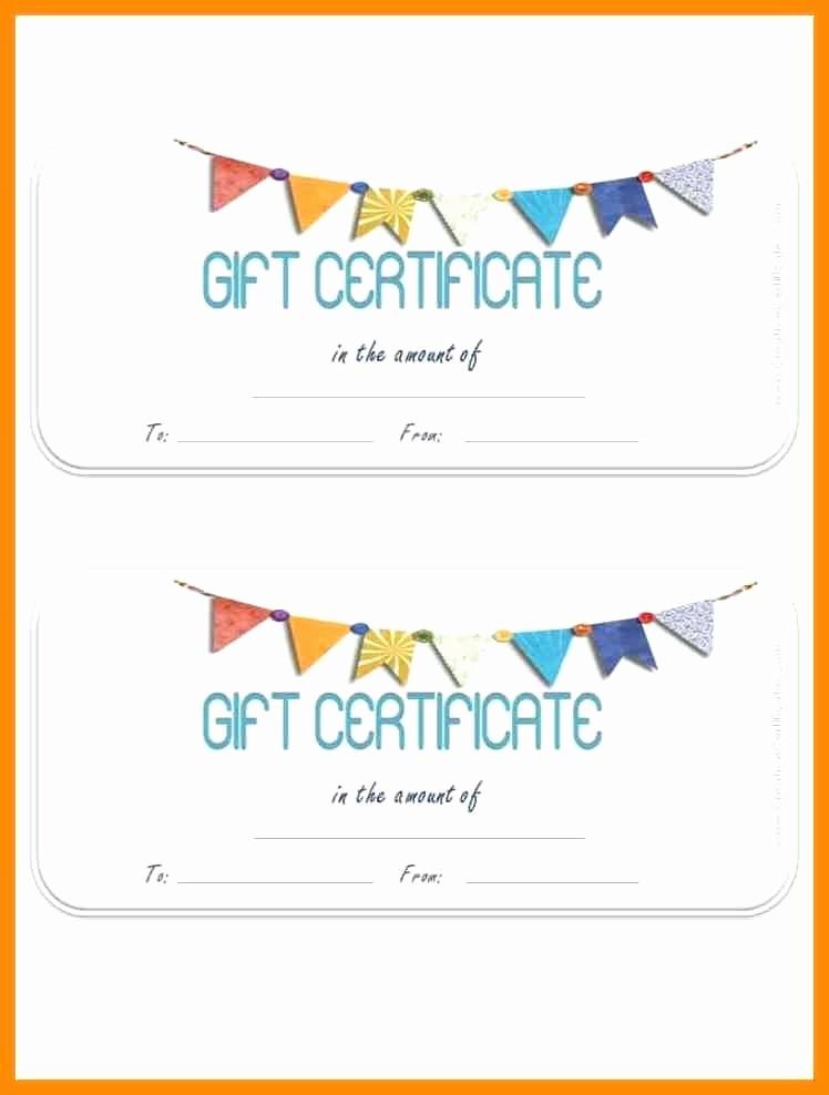 Birthday Gift Certificate Template Word Luxury T Certificate Template – Template Gbooks