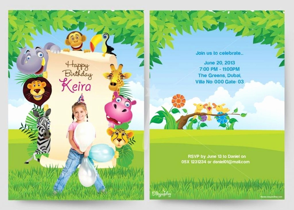 Birthday Invitation Card Template Free Elegant Birthday Party Birthday Cards Invitation Card