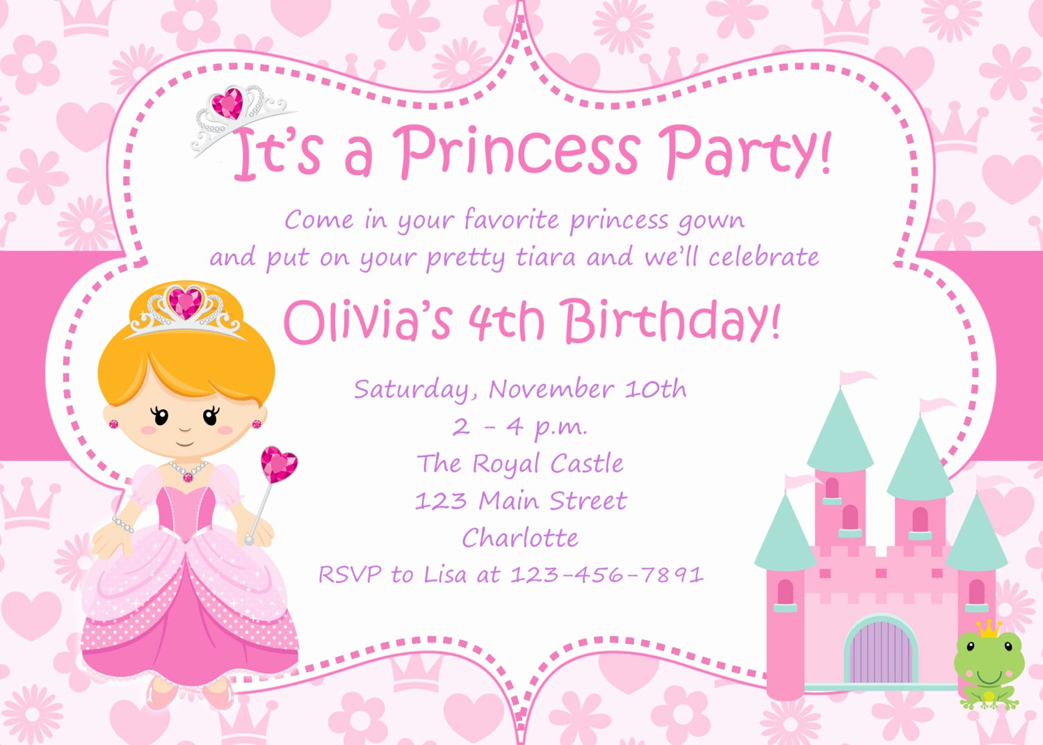 Birthday Invitation Card Template Free Elegant Free Birthday Invitations Templates Printable