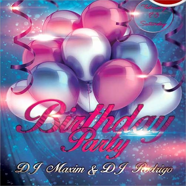 Birthday Party Flyer Template Free Best Of 9 Amazing Sample Birthday Flyer Templates to Download