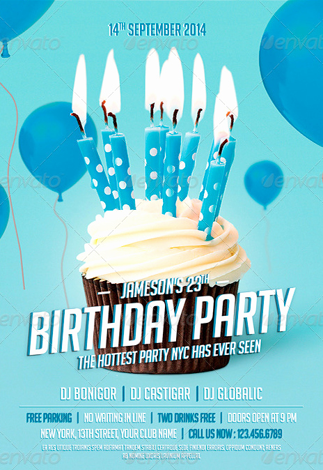 Birthday Party Flyers Designs Free Beautiful 20 Adult Party Flyer Psd Shop Psd Birthday