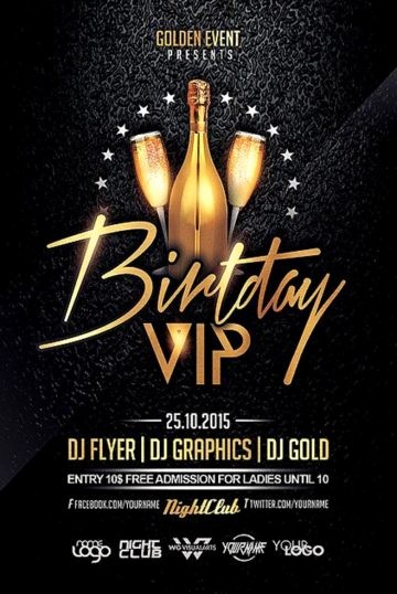 Birthday Party Flyers Designs Free Best Of Download Birthday Flyer Templates for Shop On Ffflyer