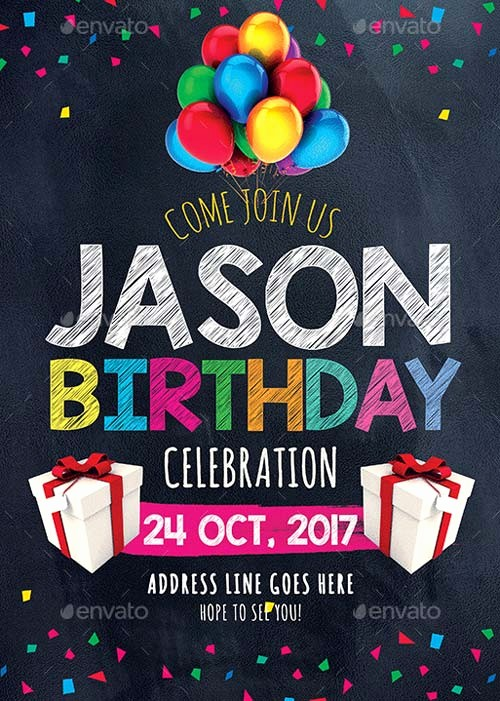 Birthday Party Flyers Designs Free Lovely Best Of Birthday Flyer Templates Free and Premium Flyer