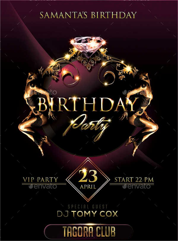 Birthday Party Flyers Designs Free Lovely Flyer Designs