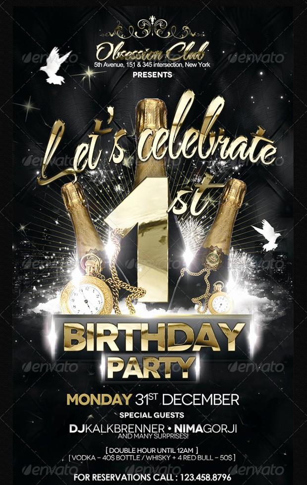 Birthday Party Flyers Designs Free Luxury Design A Party Flyer 21 Birthday Party Flyer Design Psd
