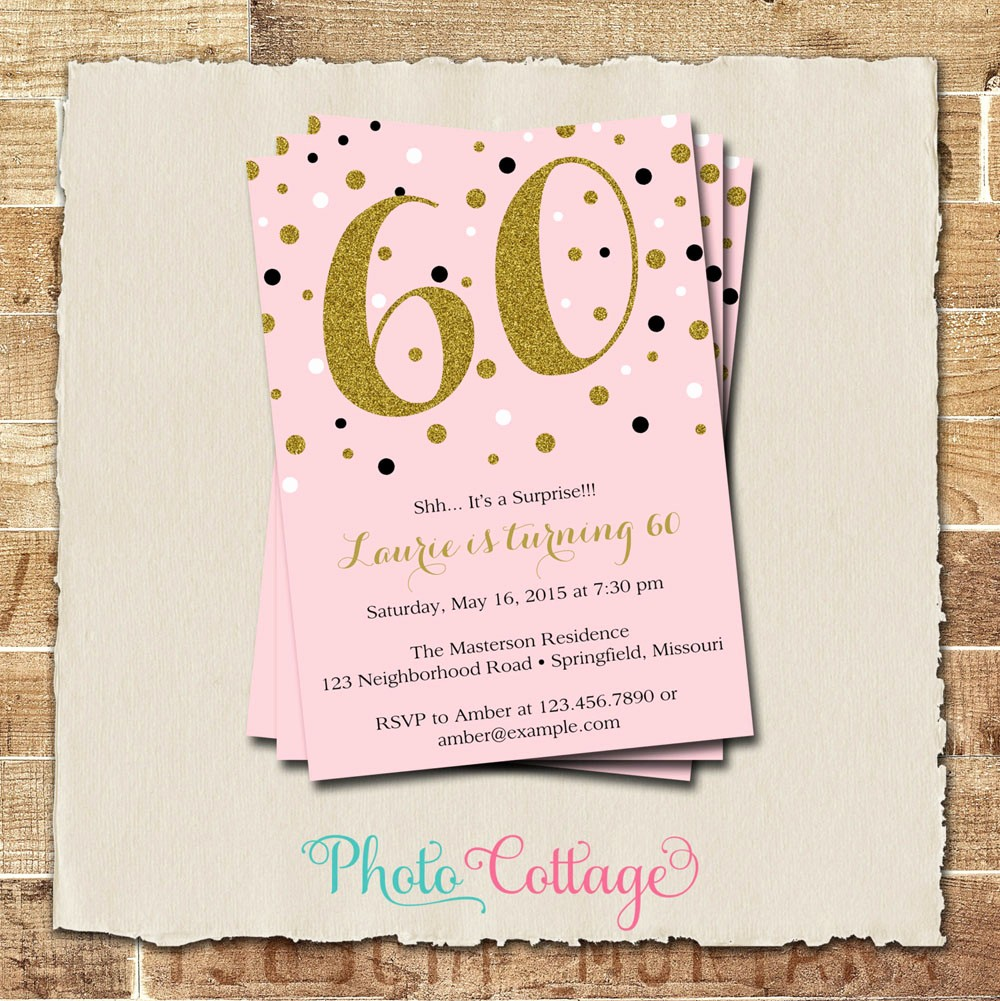 Birthday Party Invitation Card Template Fresh 20 Ideas 60th Birthday Party Invitations Card Templates