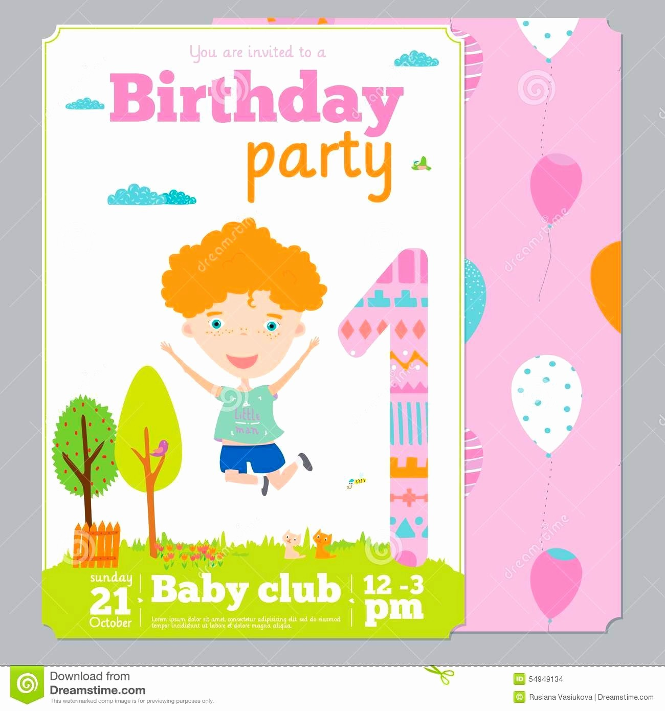 Birthday Party Invitation Card Template New Birthday Invitation Card Template Mughals