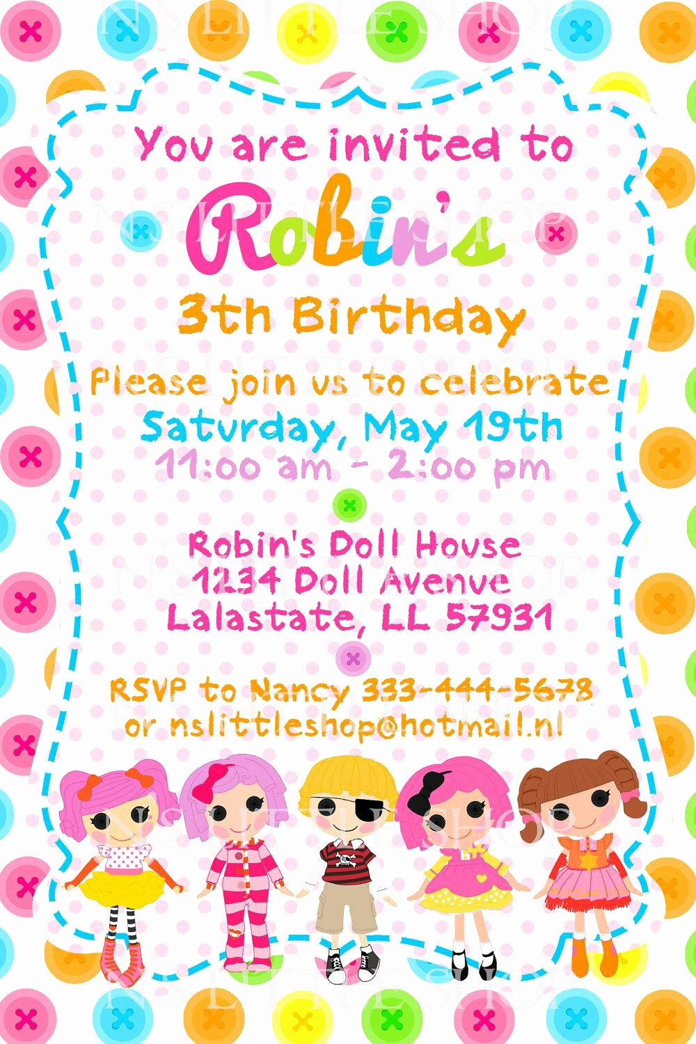 Birthday Party Invitation Card Template Unique 20 Birthday Invitations Cards – Sample Wording Printable