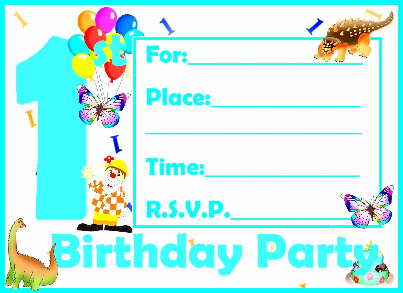 Birthday Party Invitation Card Template Unique Birthday Invitation Birthday Invitation Card Template