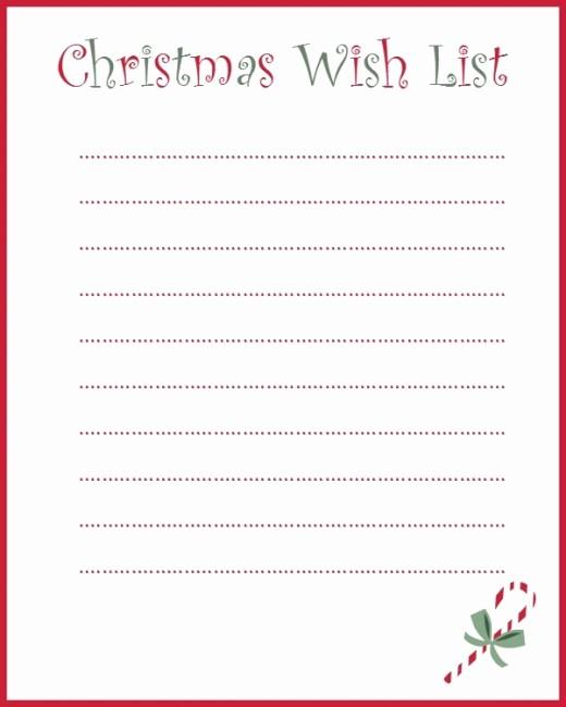 Birthday Wish List Template Printable Luxury My Grown Up Christmas Wish List and A Free Printable