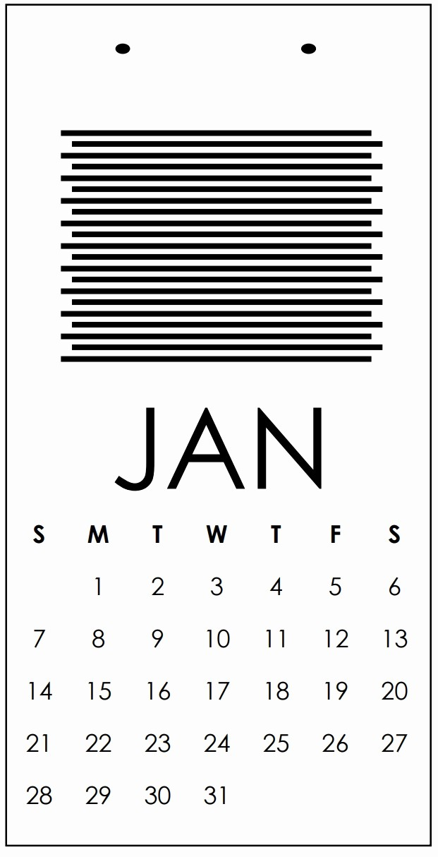 Black and White Calendar Template Beautiful Black and White Calendar 2018 Template