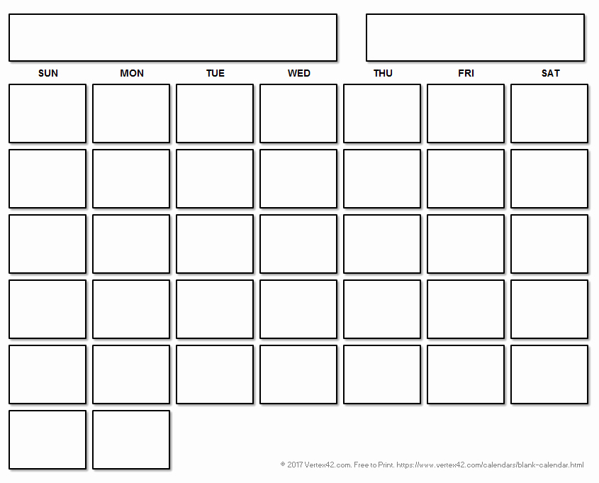 Black and White Calendar Template Best Of Blank Calendar Template Free Printable Blank Calendars