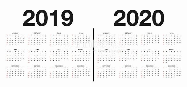 Black and White Calendar Template Best Of Calendar 2019 and 2020 Template Calendar Design In Black