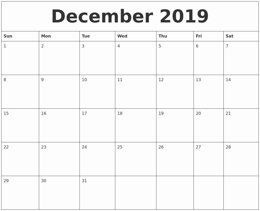 Black and White Calendar Template Fresh Printable Calendar 2019 Black and White October