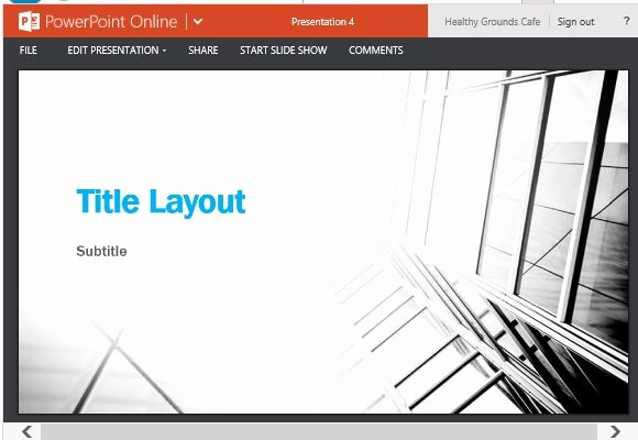 Black and White Powerpoint Template Fresh Business Contrast Widescreen Template for Powerpoint Line