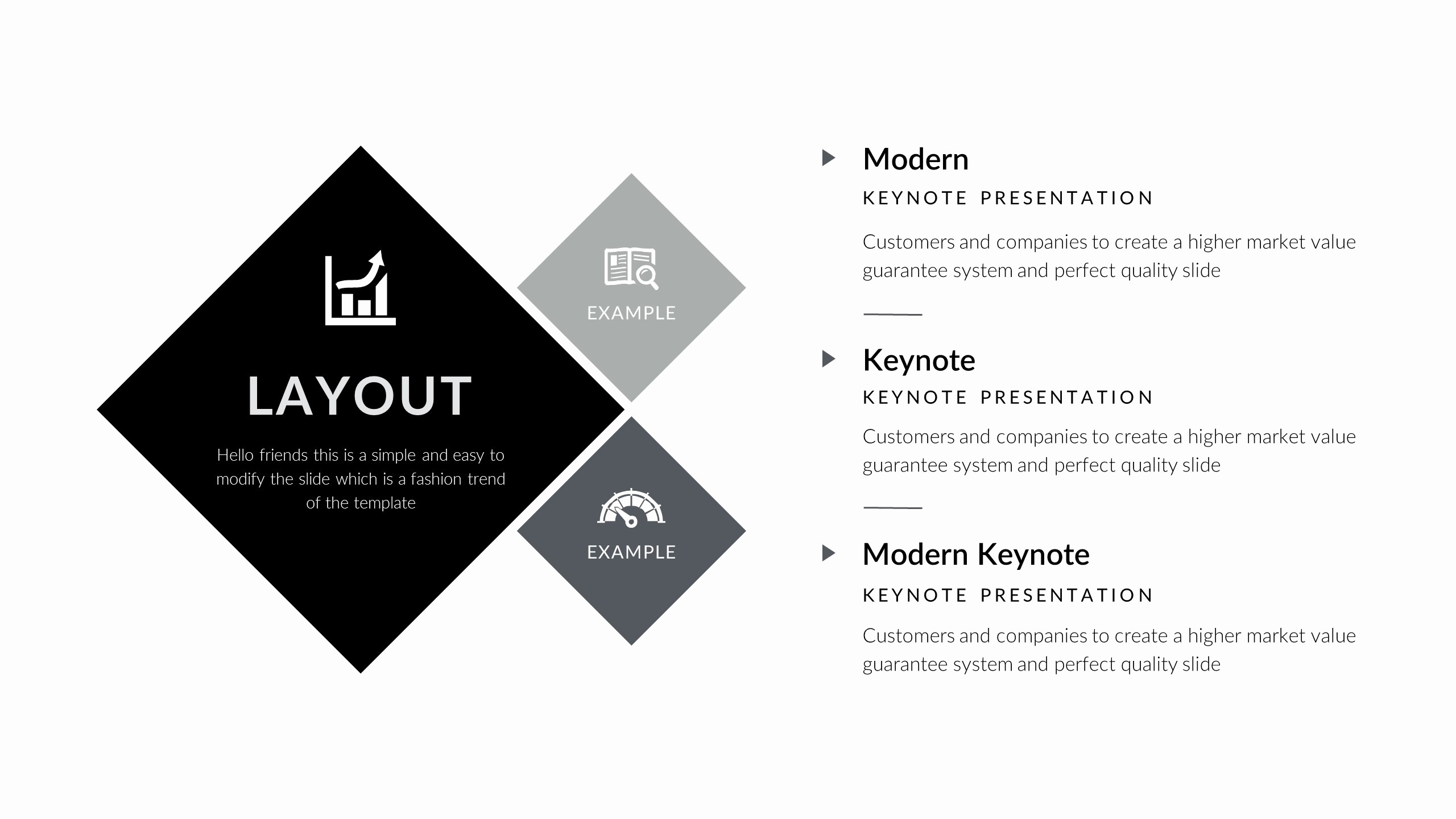 Black and White Powerpoint Template Unique Modern Powerpoint Template by 5yue