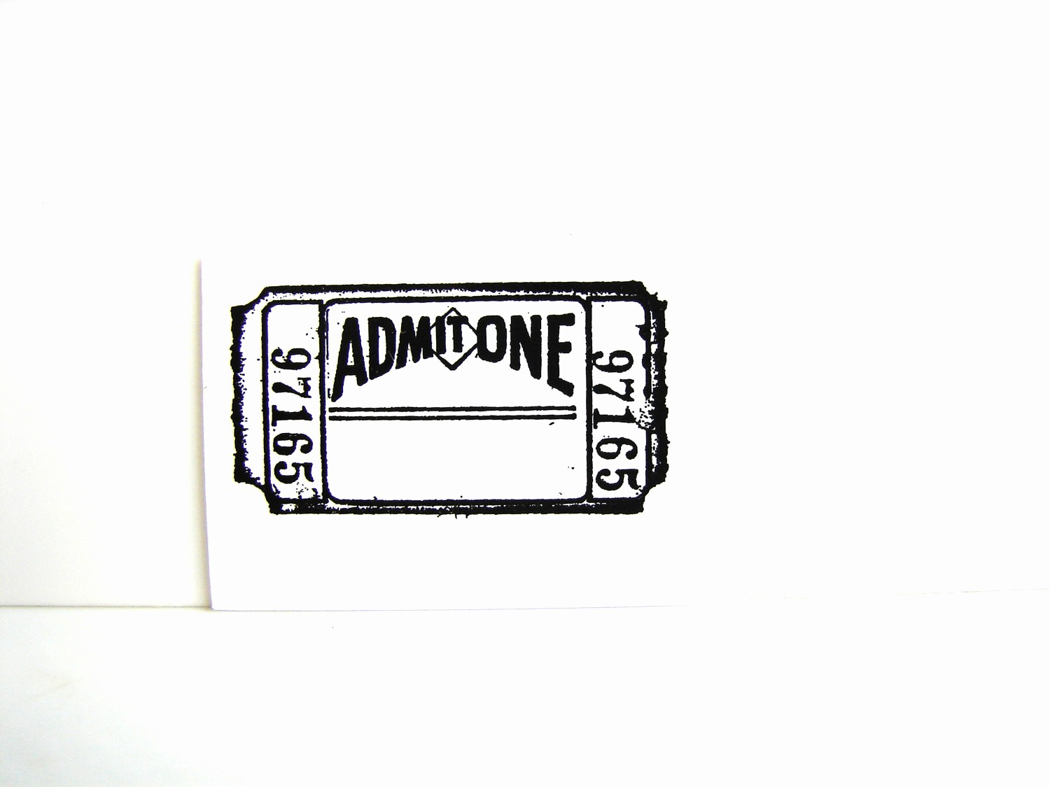 Blank Admit One Ticket Template Awesome 25 Of Blank Admit E Template
