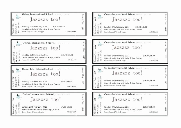 Blank Admit One Ticket Template Beautiful Blank Admit One Ticket Template – Buildingcontractor