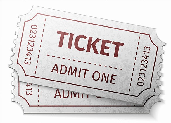 Blank Admit One Ticket Template Inspirational Ticket Templates – 99 Free Word Excel Pdf Psd Eps