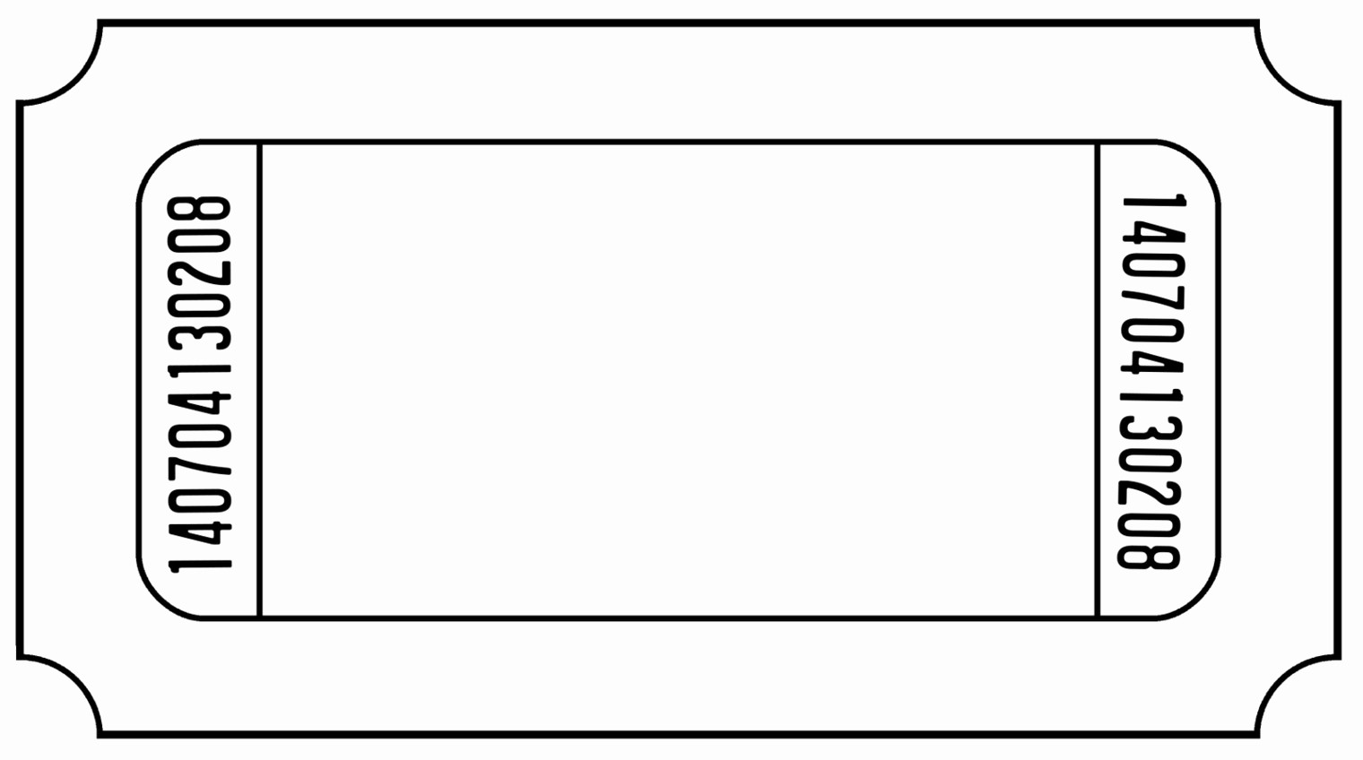 Blank Admit One Ticket Template Unique Admit E Ticket Template