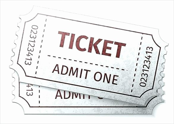 Blank Admit One Ticket Template Unique Blank Admit One Ticket Template – Buildingcontractor