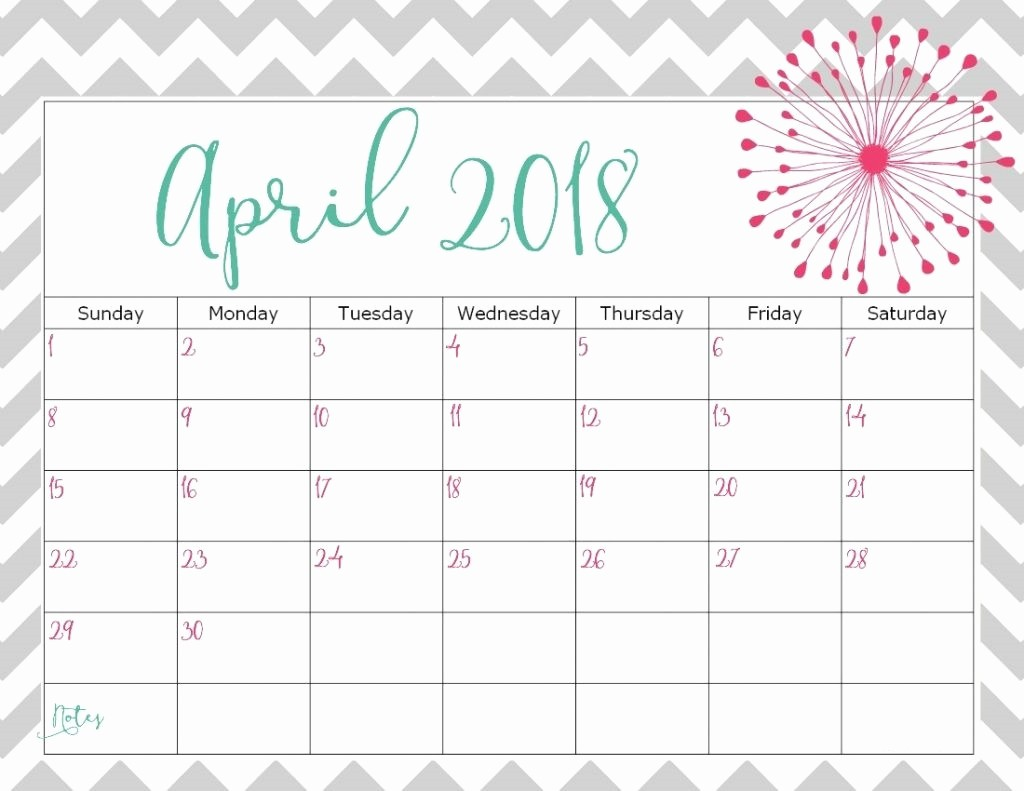 Blank April 2018 Calendar Template Elegant April 2018 Calendar Template Printable Blank Wallpaper
