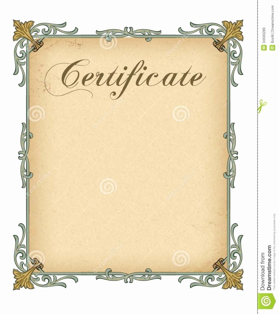 Blank Award Certificates to Print Elegant 15 Printable Award Certificates Free