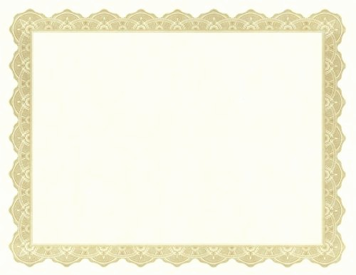 Blank Award Certificates to Print Fresh Free Blank Certificate Templates