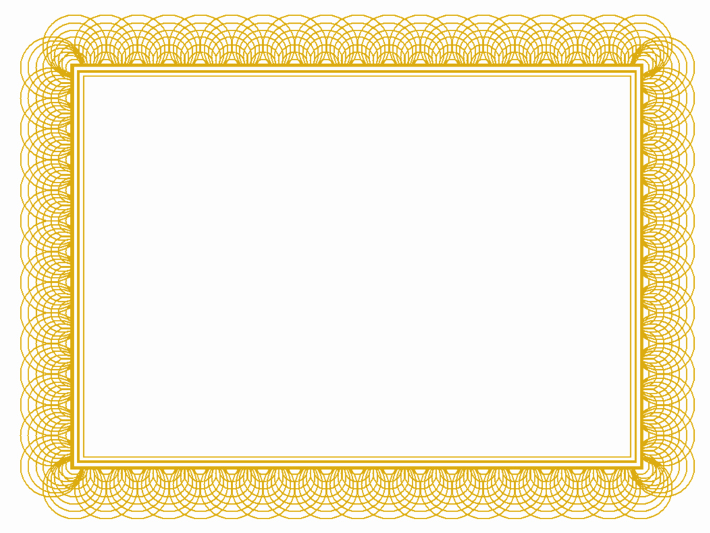 Blank Award Certificates to Print Fresh High Resolution Gold Certificate Templates