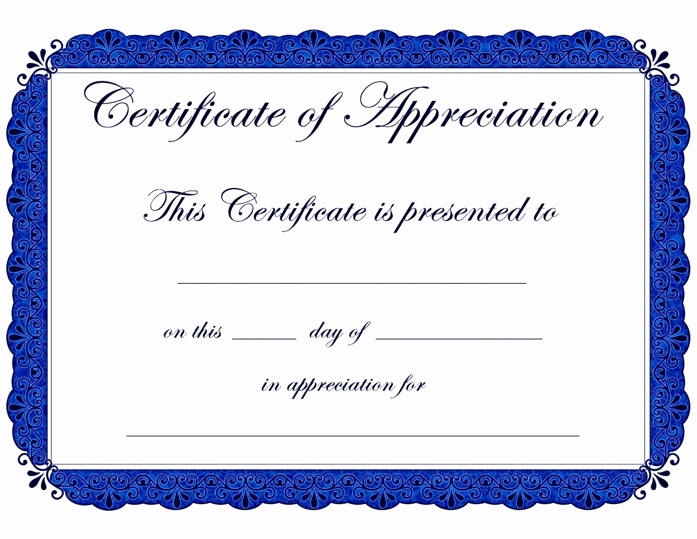 Blank Award Certificates to Print Lovely Template Blank Award Certificate Template