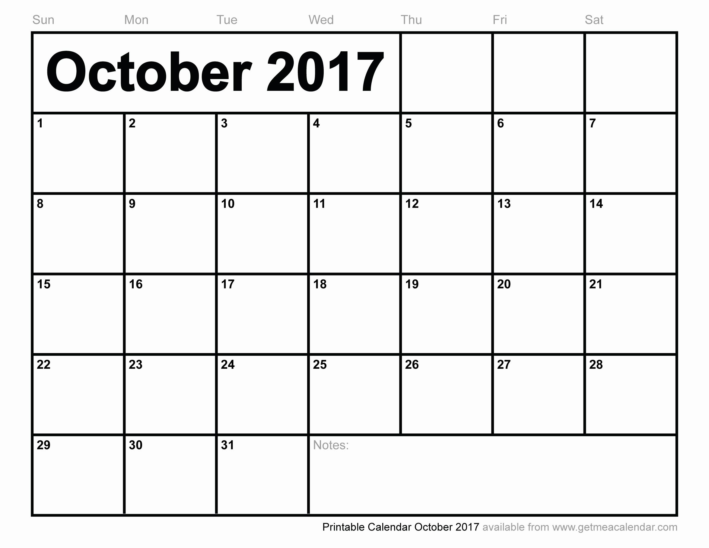 Blank Calendar Template August 2017 Elegant October 2017 Calendar with Holidays Uk