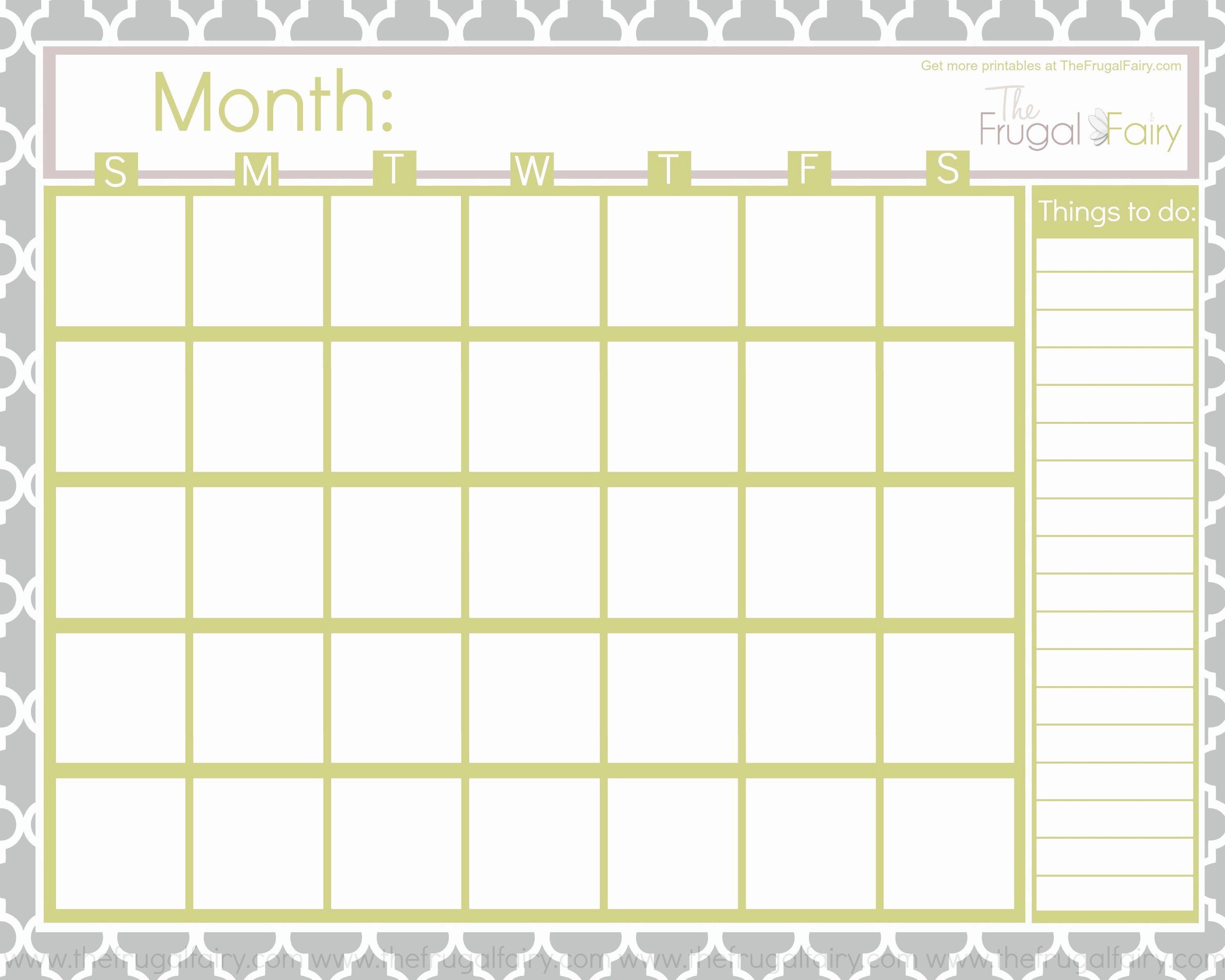 Blank Calendar to Fill In Awesome Blank July 2015 Calendar to Print