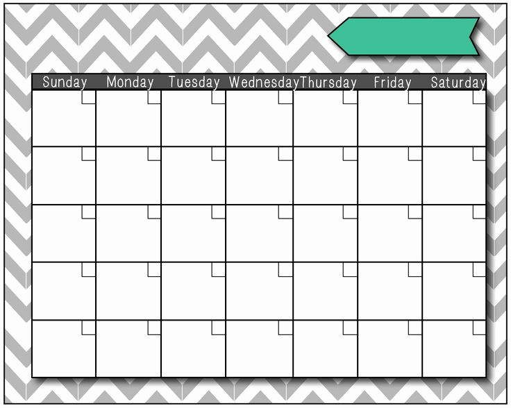 Blank Calendar to Fill In Beautiful Blank Calendars 06 Just Fill It In