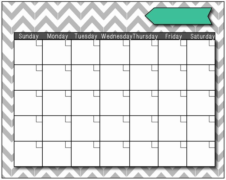 Blank Calendar to Fill In Beautiful Blank Calendars 06 Just Fill It In