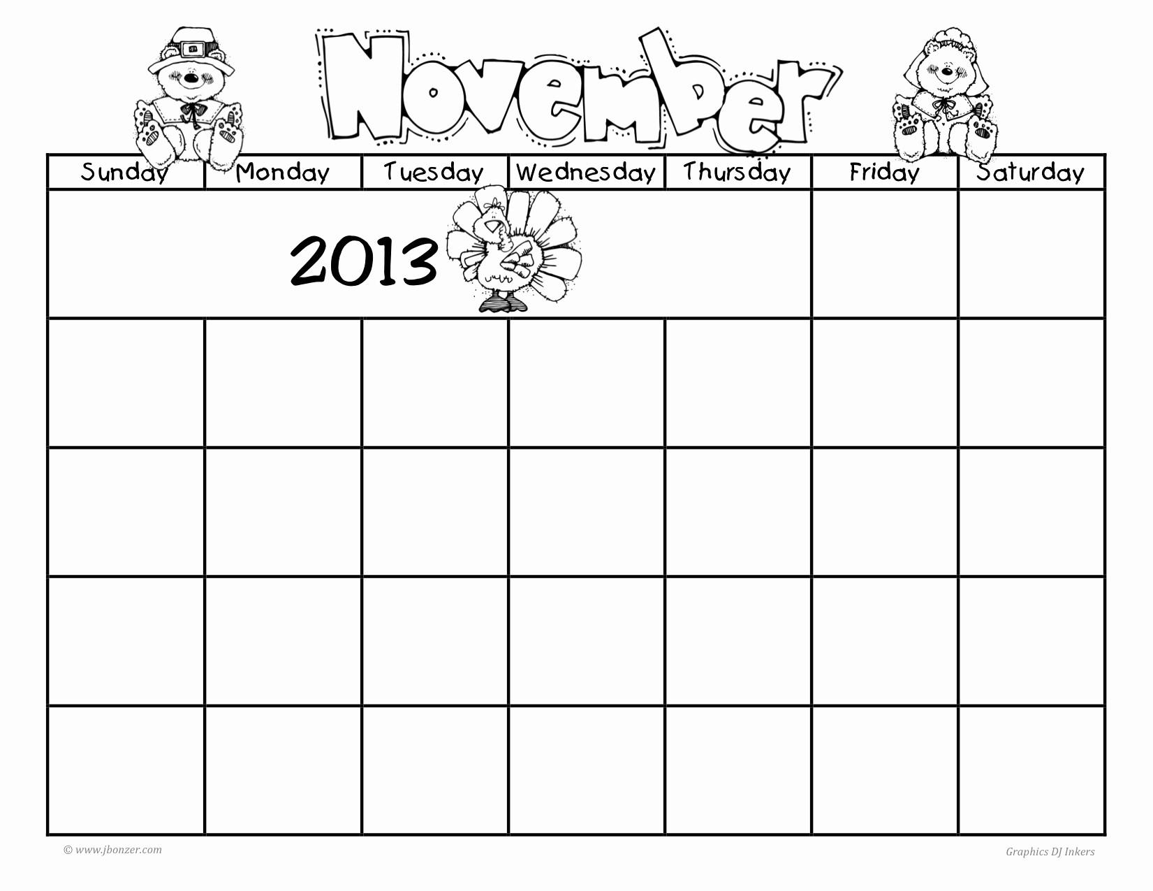 Blank Calendar to Fill In Beautiful Fill In Printable Calendar All Blank Fill In Calendar 2013