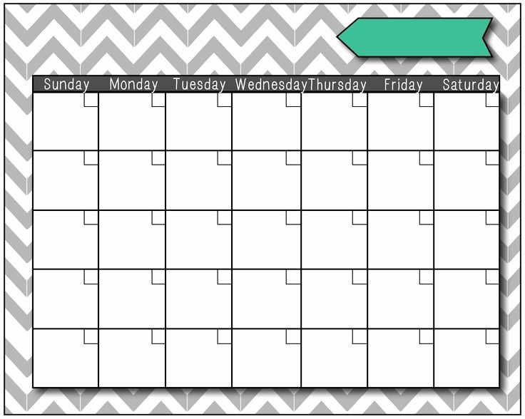 Blank Calendar to Fill In Best Of Free Printable Fill In Calendar