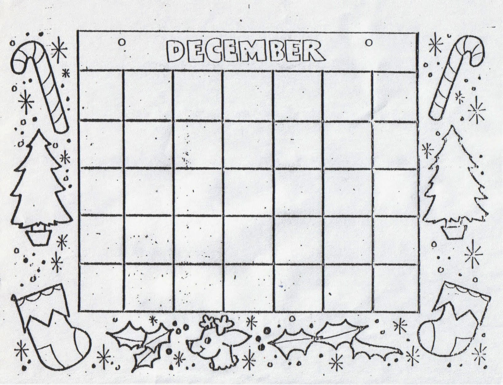 Blank Calendar to Fill In Best Of Kat S Almost Purrfect Home Free Blank Calendars to Color