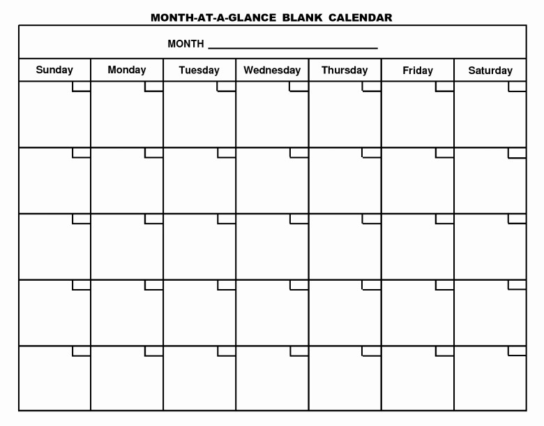 Blank Calendar to Fill In Lovely to Fill In Blank Calendar Free Calendar Template