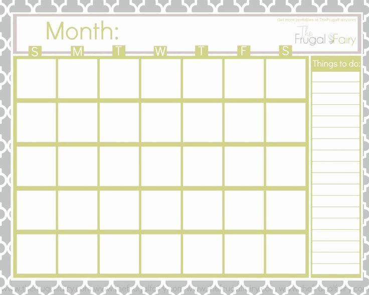 Blank Calendar to Type On Best Of 25 Best Ideas About Blank Calendar On Pinterest