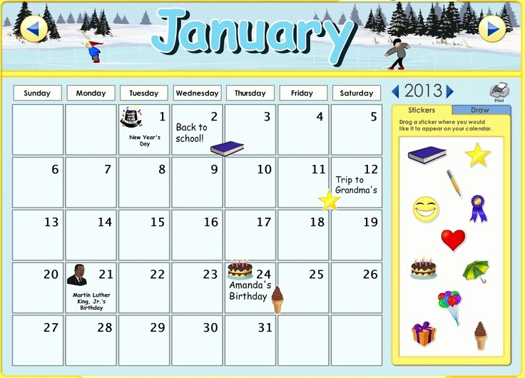 Blank Calendar to Type On Elegant I Can Type Into Calendar You Can now Customize the