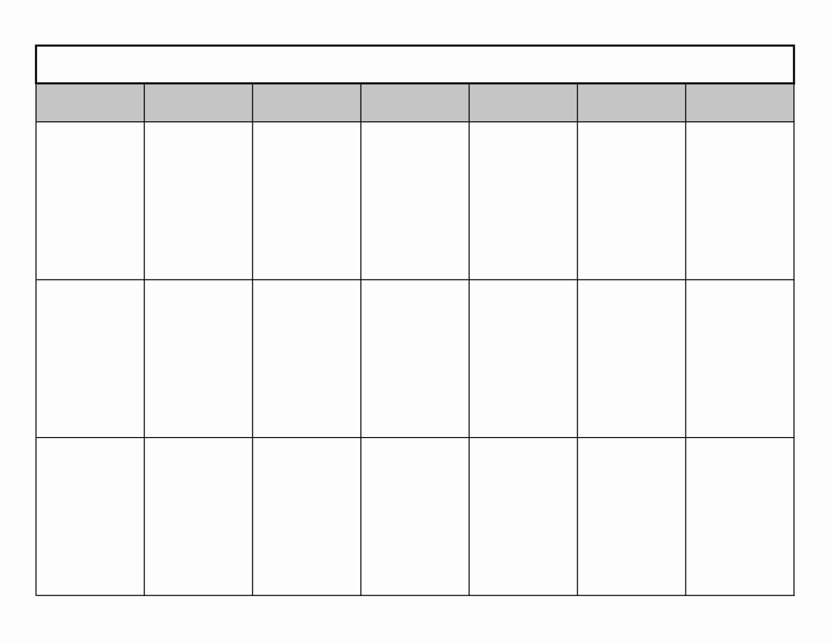 Blank Calendar to Type On New Blank Calendar to Print – 2017 Printable Calendar