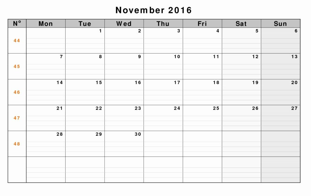 Blank Calendar to Type On Unique Calendars by Month You Can Type In and Print
