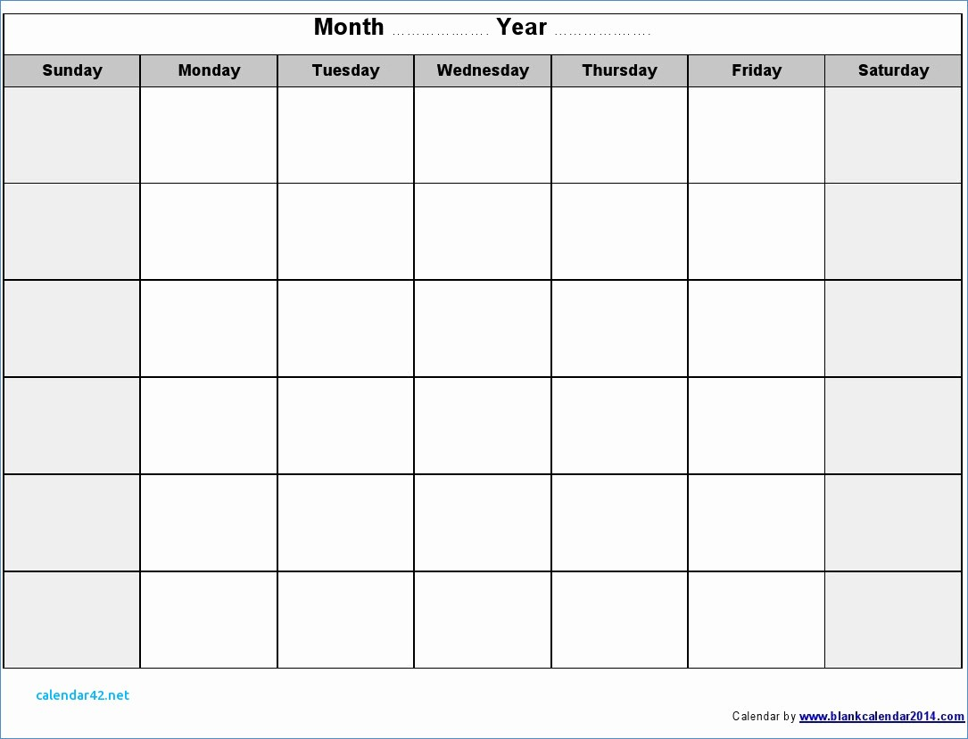 Blank Calendar to Type On Unique Printable Calendar I Can Type In Printable 360 Degree