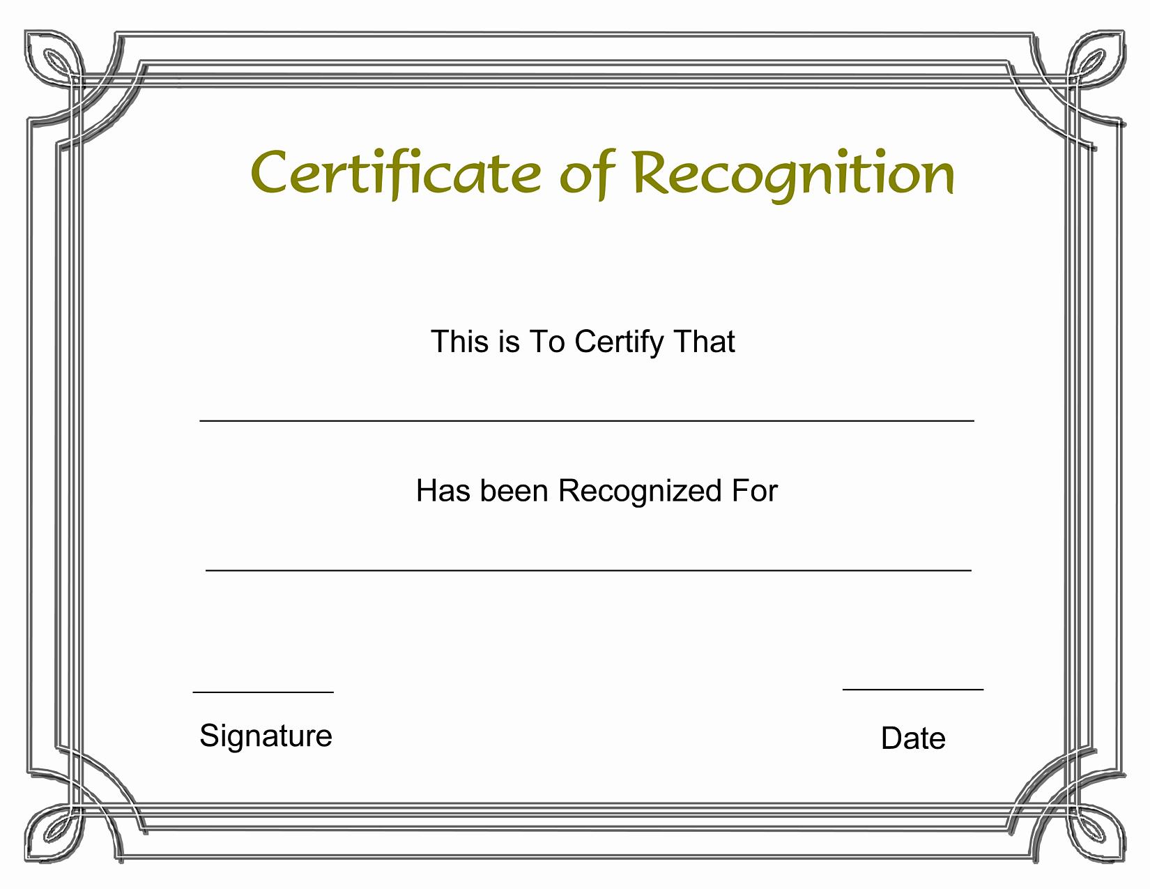 Blank Certificate Of Achievement Template Best Of Blank Award Templates Portablegasgrillweber