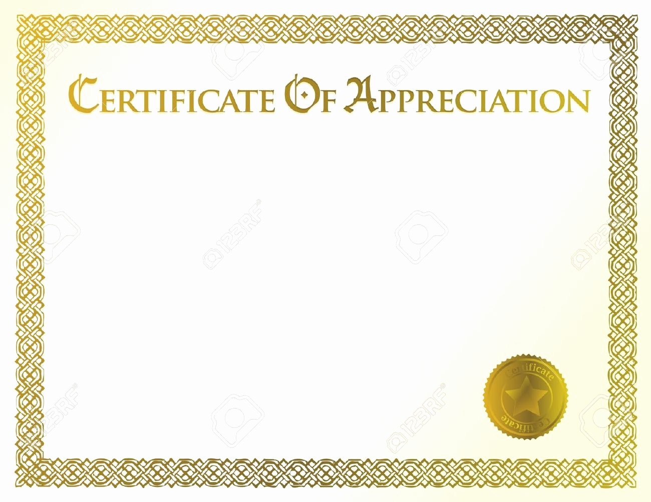 Blank Certificate Of Achievement Template Elegant Blank Certificate Template Sample Achievement Illustration