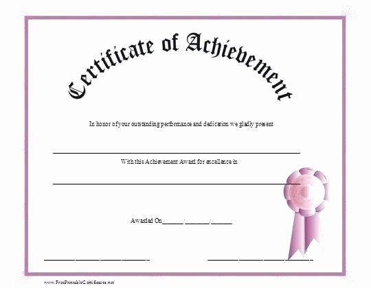Blank Certificate Of Achievement Template Elegant Printable Blank Golf Flag Template Free Certificates