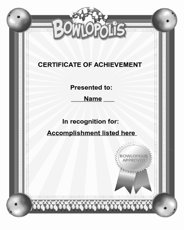 Blank Certificate Of Achievement Template Unique 2019 Certificate Of Achievement Fillable Printable Pdf