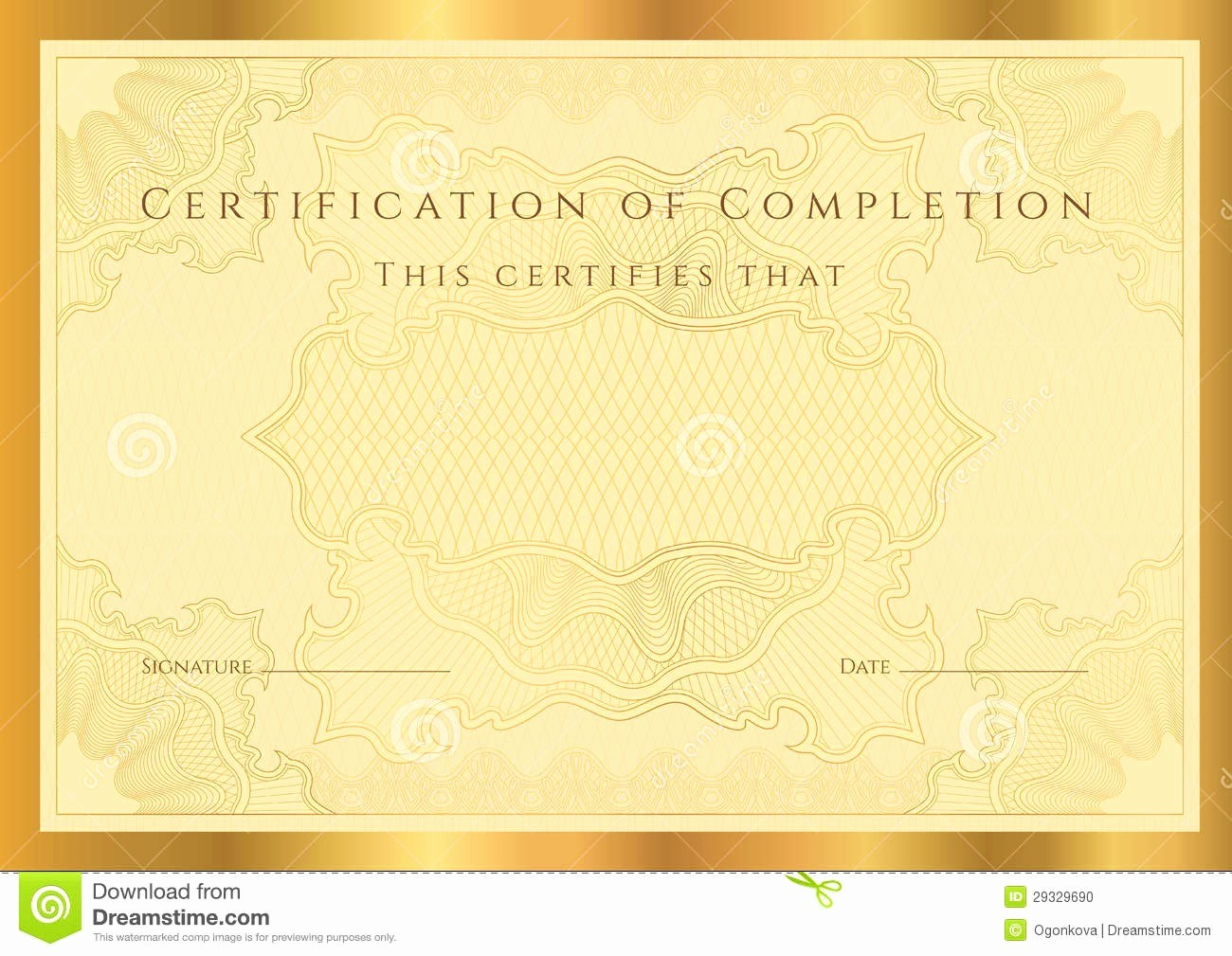 Blank Certificate Of Completion Template Best Of Blank Certificates Pletion Mughals